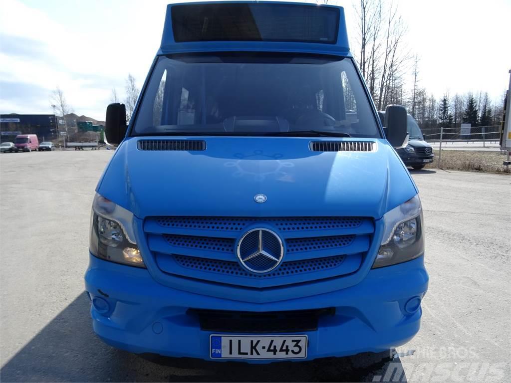 Mercedes-Benz -sprinter-316-cdi-linja-auto-10-paikkaa Espoo Hinta: 24 000 €, Vuosimalli: 2013 ...