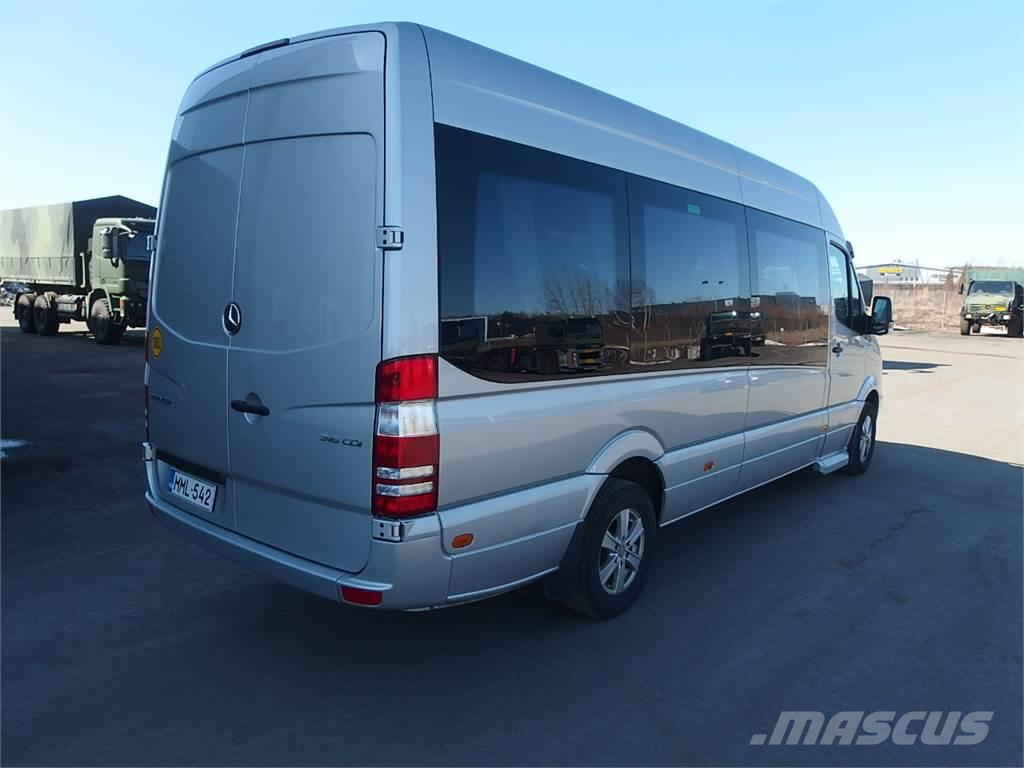 used mercedes benz sprinter 316 cdi 14 paikkaa coach year. Black Bedroom Furniture Sets. Home Design Ideas