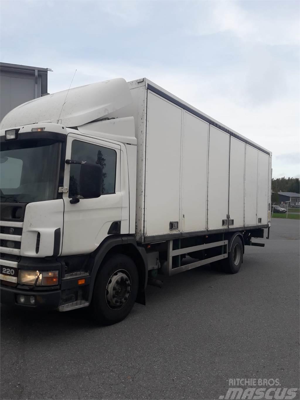 Scania 94D Kokosivuaukeva