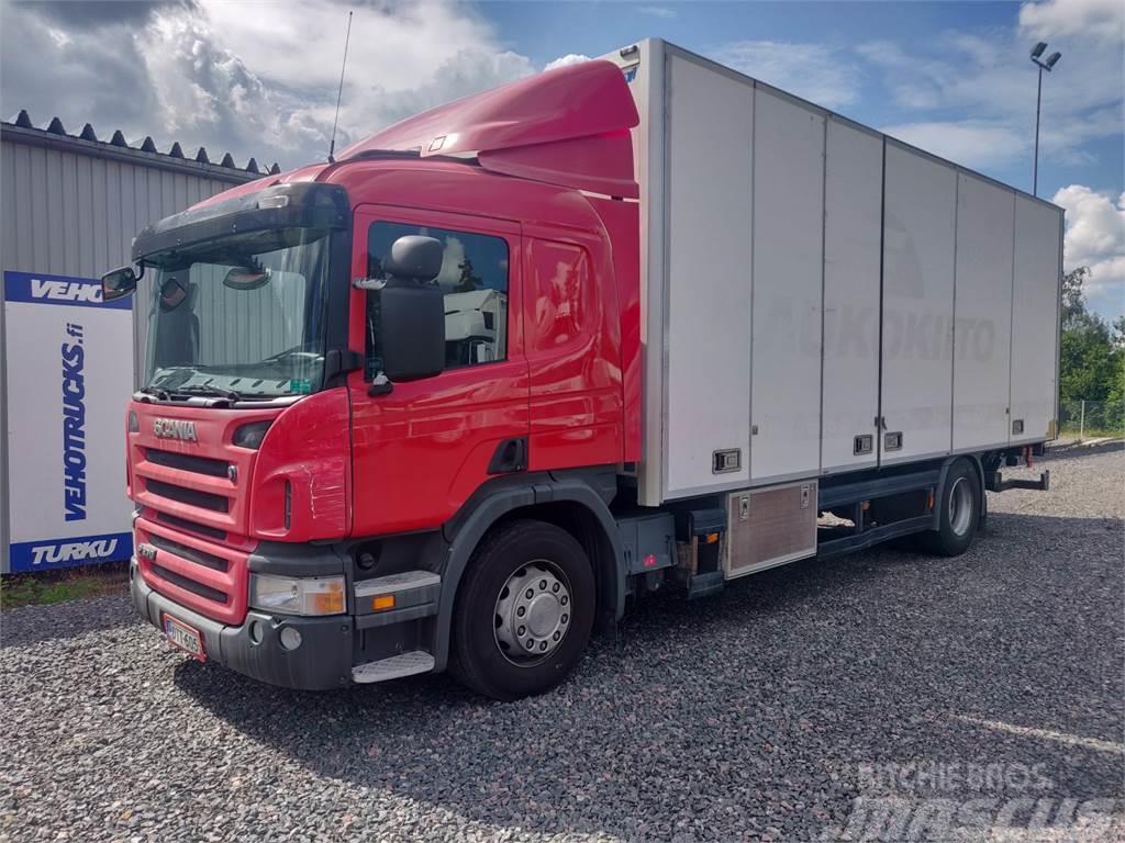 Scania P 270 Kokosivuaukeava kori+PL