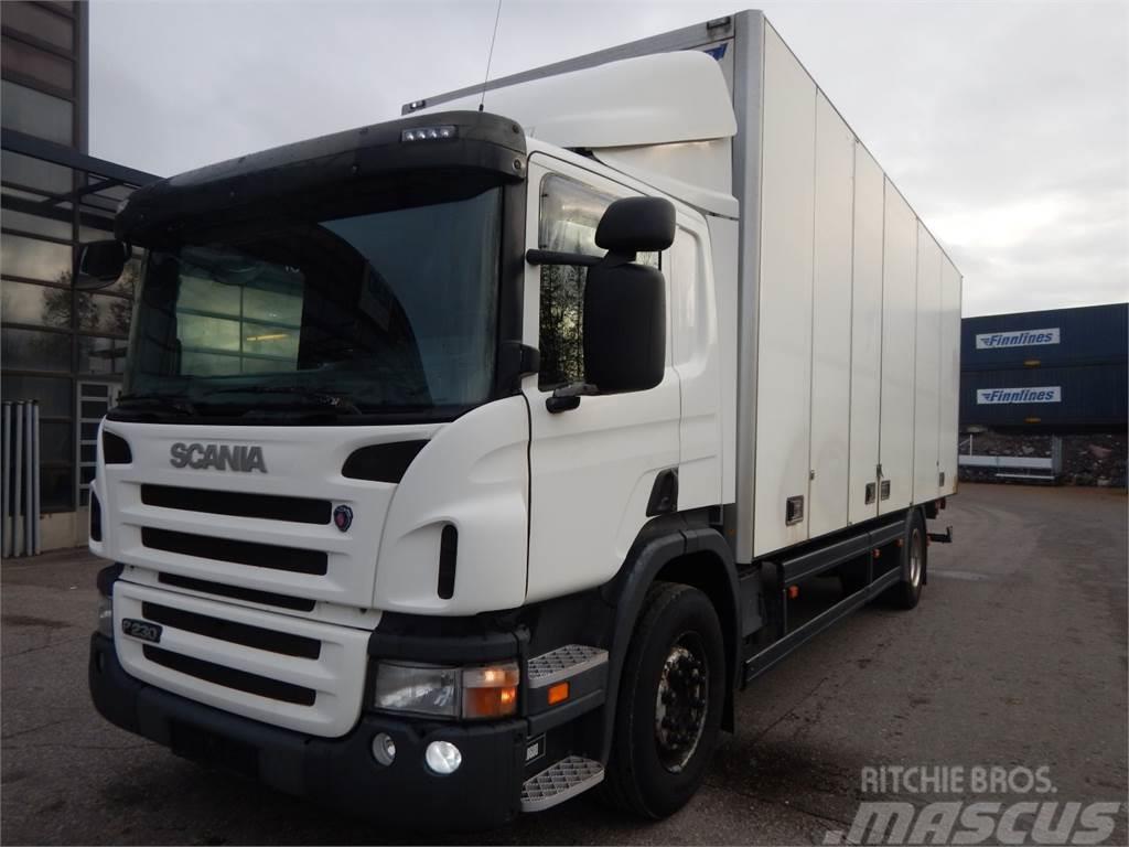 Scania P230 Närkö Kokosivuaukeva