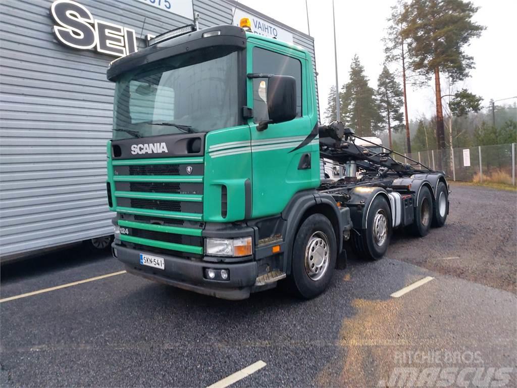 Scania R124 GB8X4 NB 420
