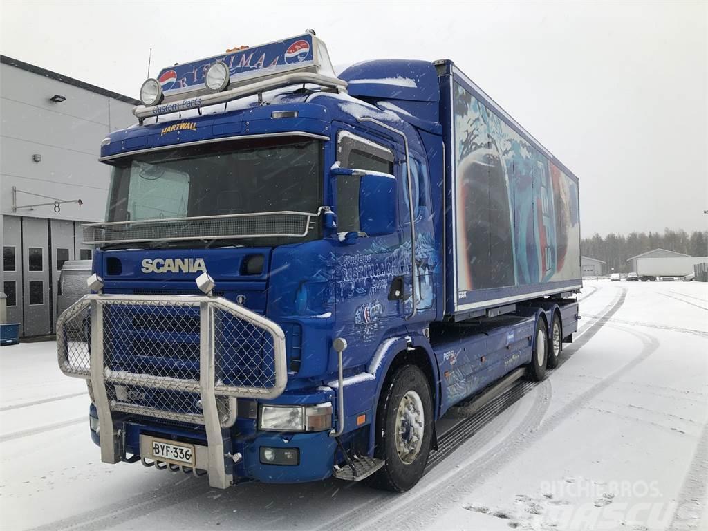 Scania R124 - Ristimaa Customs
