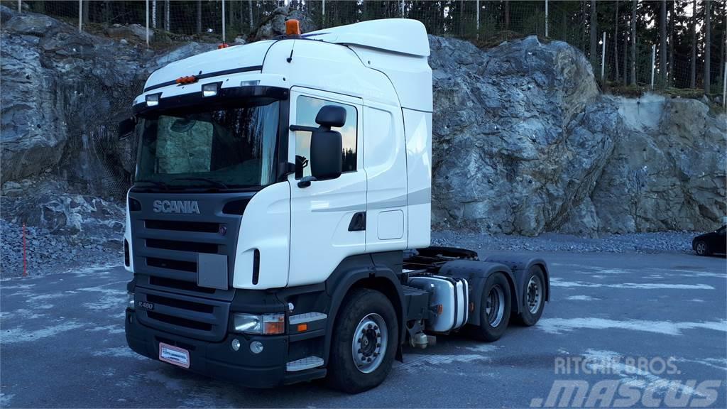 Scania R480 6x2 - Kippihydrauliikka - vain 499 tkm