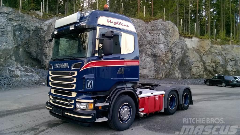 Scania R500 LA6x2 - Hydrauliikka - Manuaali