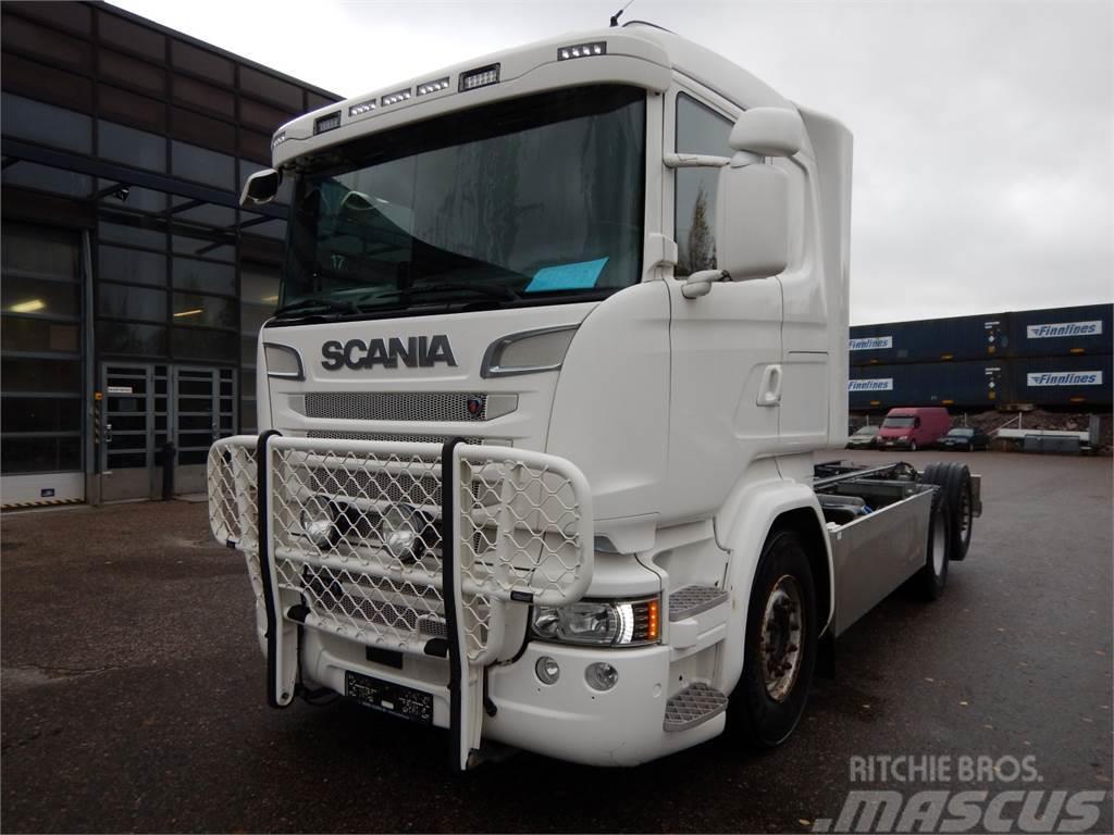 Scania R580 6x2 Alusta