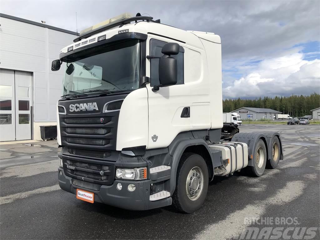 Scania R580 6x4 + Carnehl kippikärry 3aks. (liuku)
