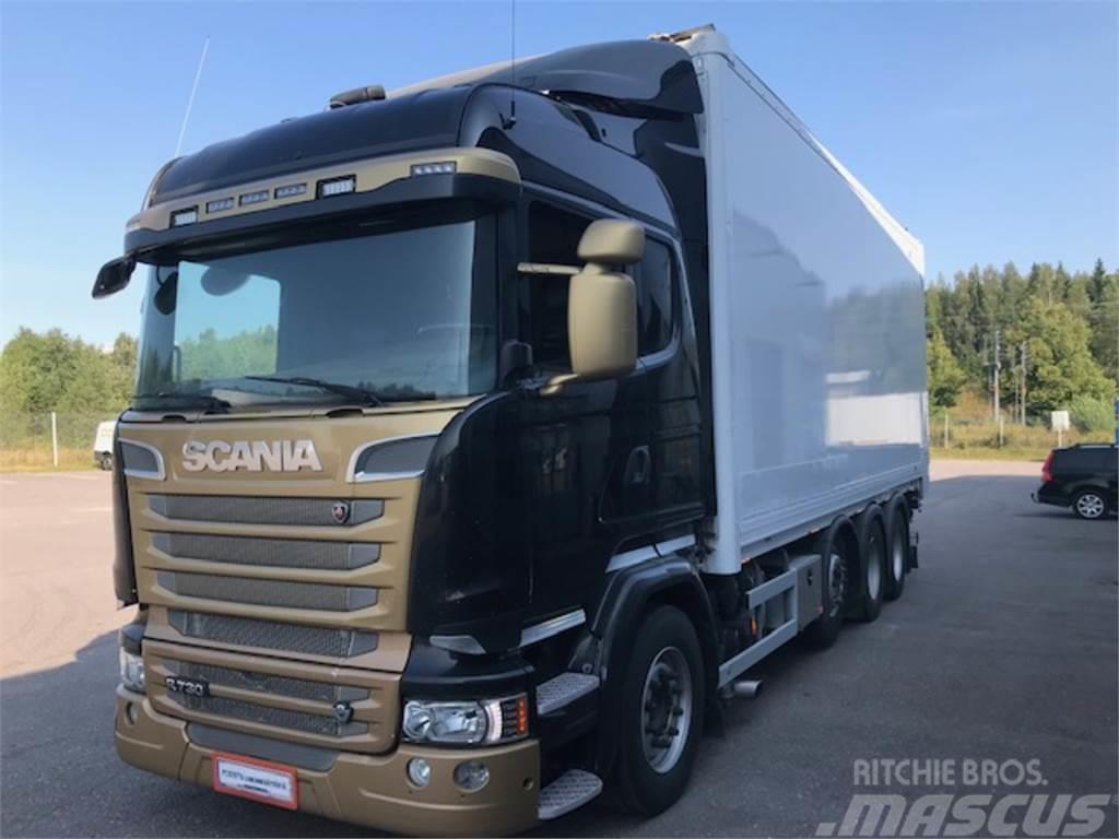 Scania R730 8x4/4 Matec ketjupurku