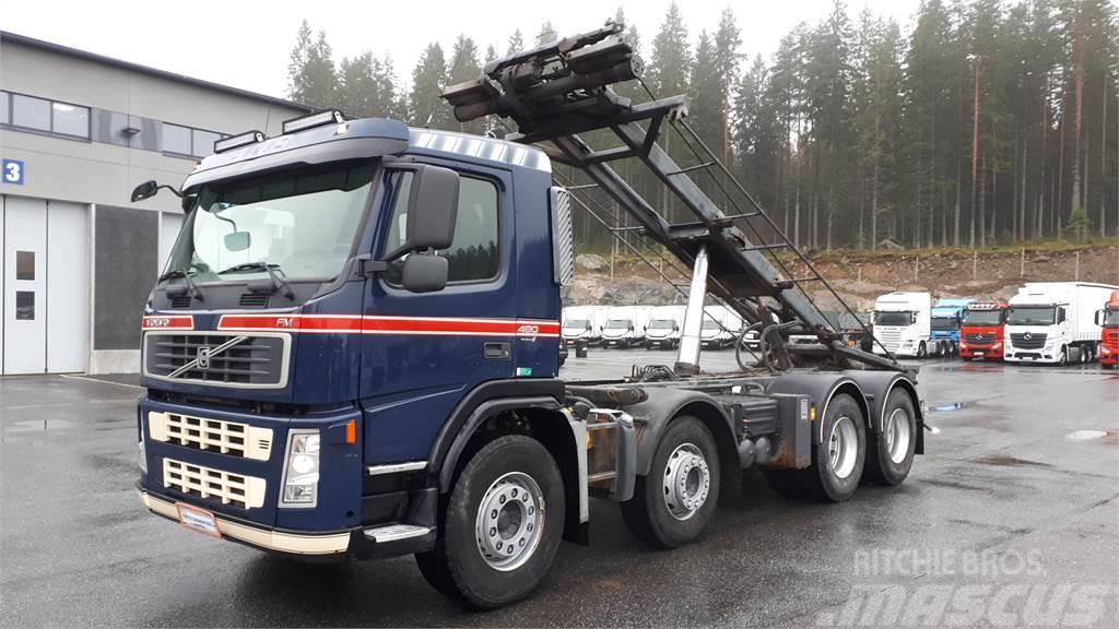 Volvo FM13 480hv 8x4 Vaijerilaite