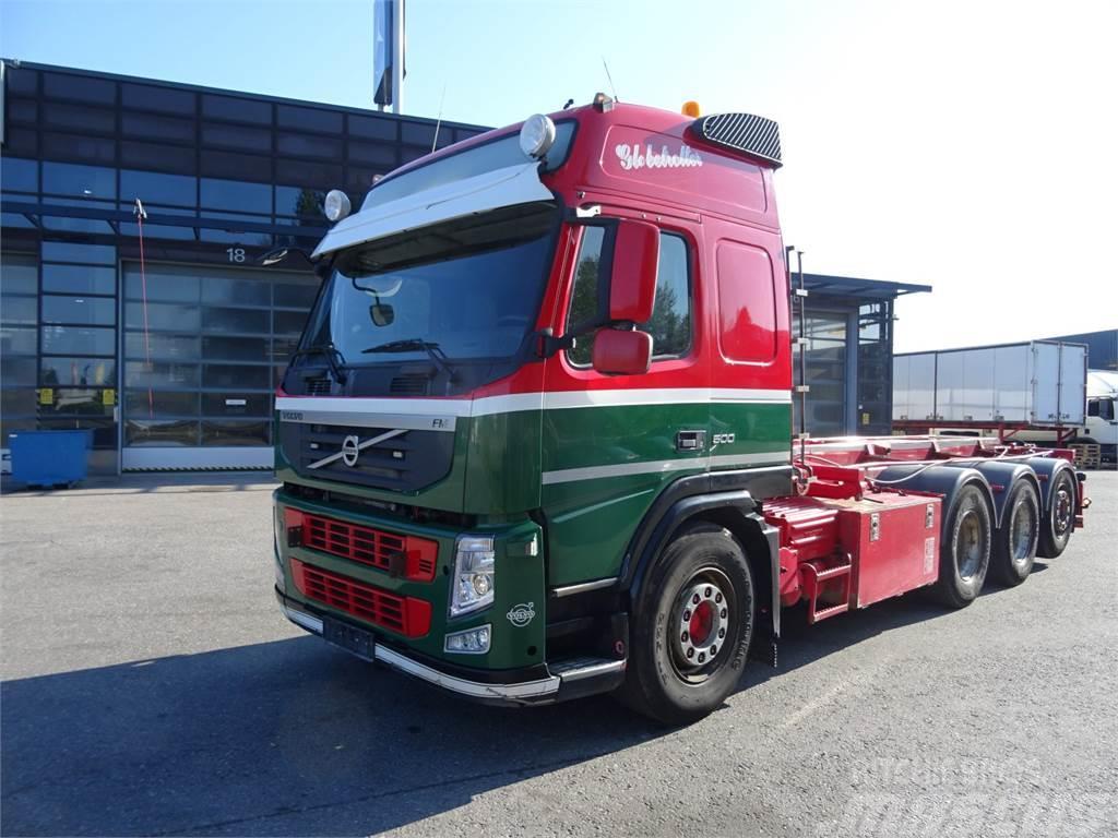 Volvo FM500 8x4 Tridem, Multilift Vaijerivaihtolavalaite