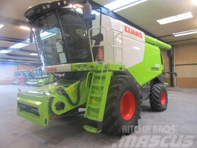 CLAAS LEXION 650 CEBIS