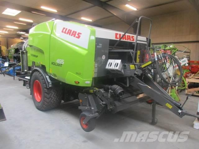 CLAAS ROLLANT 455 RC UNIWRAP med ballevender