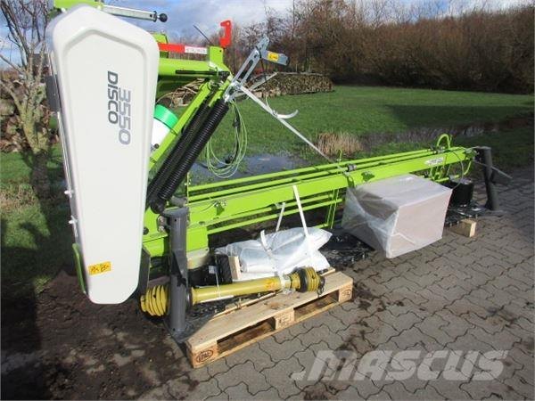 CLAAS DISCO 3550 PLUS, NY MODEL u/crimper, kampagne