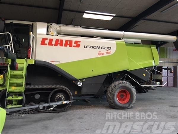 CLAAS LEXION 600 TERRA-TRAC 35 FOD CEBIS