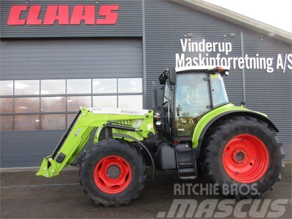 CLAAS ARION 640 CEBIS m/Alo Q 55 læsser samt frontlift