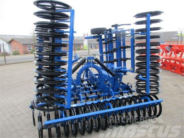 Dal-Bo Culti-lift 6m m/T-ringsvalse og hjul