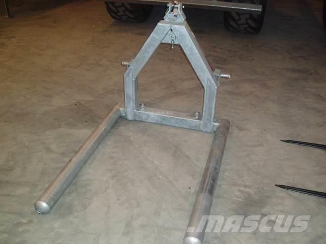 Fliegl Balletransportgafler, galv,
