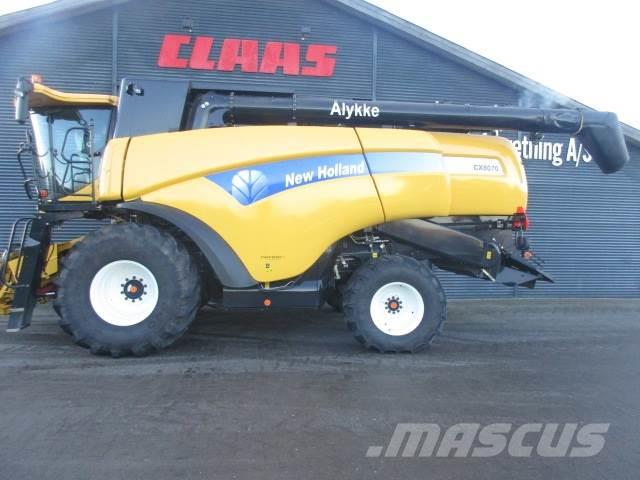 New Holland CX8070 SLH 30' varifeed