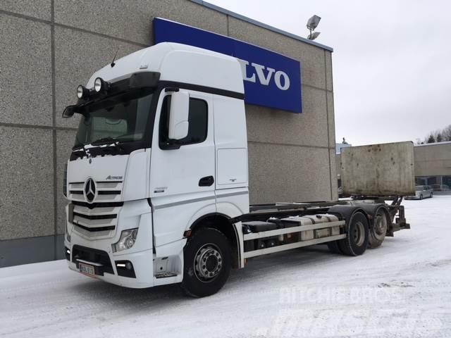 Mercedes-Benz Actros 25.. Volvo Truck Center Lahti - LAHTI, LAHTI Hinta: 39 000 €, Vuosimalli ...