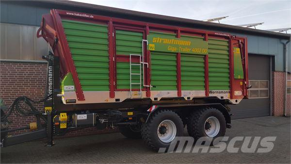 Strautmann Multi-Cargo, Giga Trailer Hächseltransportaufbau (
