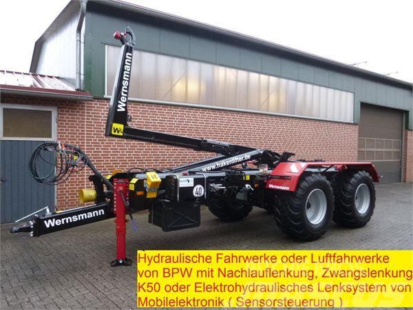 Wernsmann WH24G mit Lenkachse mit Meillerhakenlift