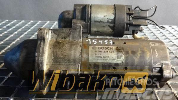 Bosch Starter / Rozrusznik Bosch 0001231026