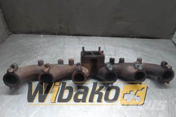 CASE Exhaust manifold Case 6T-830