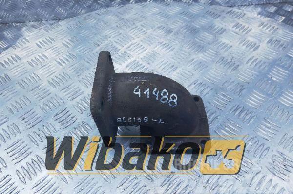 Caterpillar Exhaust mainfold elbow Caterpillar 3208 8L6169-1