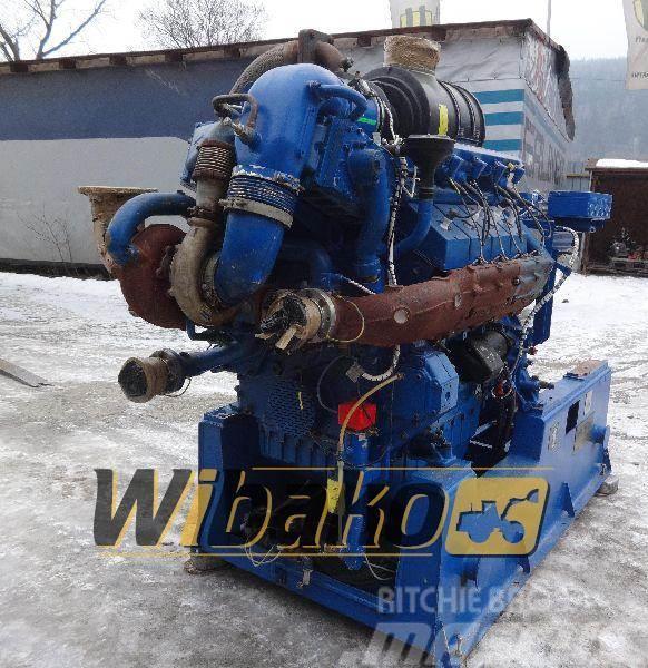 Deutz Engine / Silnik spalinowy Deutz TBG 616 V8