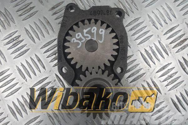 Iveco Oil pump Silnika Iveco F4AE0681B 489748I