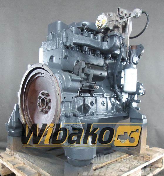 Komatsu Engine Komatsu SA6D102E-1, Poland