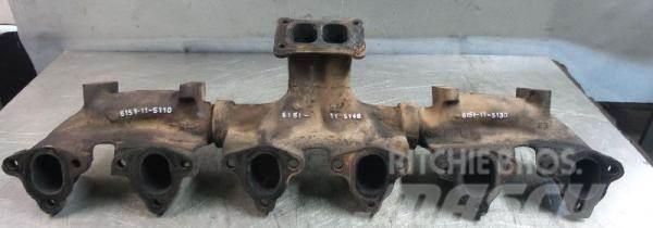 Komatsu Exhaust manifold Komatsu SAA6D125E-3 6151-11-5140
