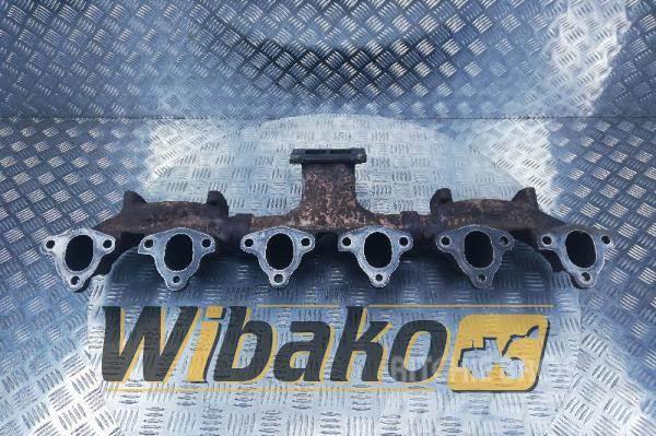 Komatsu Exhaust manifold Komatsu SAA6D125E-3 6151-11-5140/