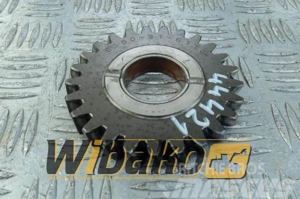 Komatsu Gear Pośrednie Komatsu 6D125E-3 6150-31-6100/6150-