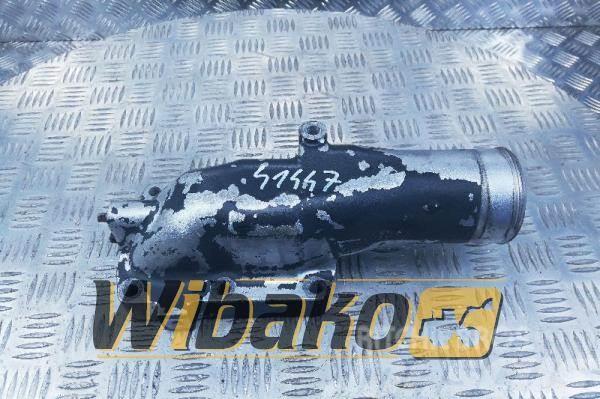 Komatsu Inlet mainfold elbow Komatsu SAA6D125E-3 6156-11-4