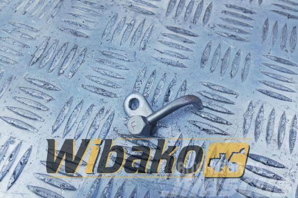Komatsu Lubricating nozzle Tłok Komatsu SAA6D125E-3 6154-2