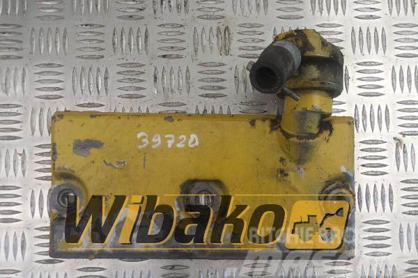 Komatsu Timing shaft cover Komatsu S6D125E-1