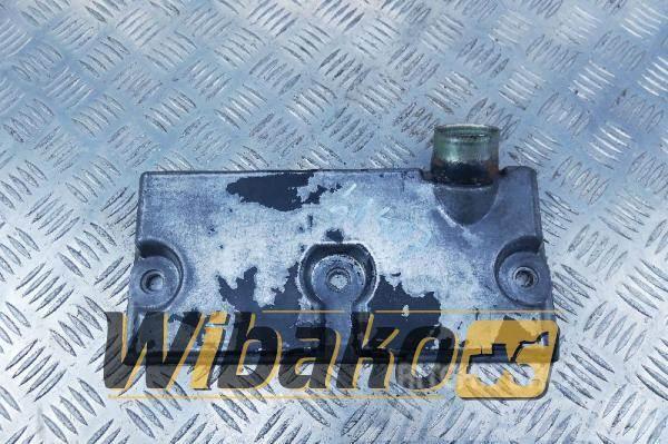 Komatsu Timing shaft cover Komatsu SAA6D125E-3 6150-22-650