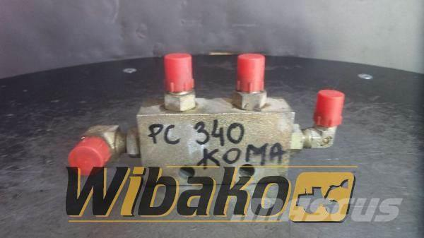 Komatsu Valves set Komatsu PC340-7
