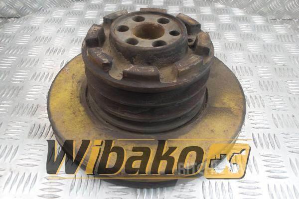 Komatsu Vibration damper + pulley Komatsu S6D125E-1