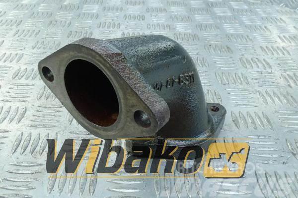 Komatsu Water pump elbow Komatsu 6D125E-3 6151-61-6311