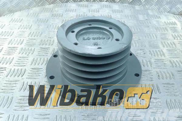 Liebherr Crankshaft pulley Liebherr D9406/D9408 9278979