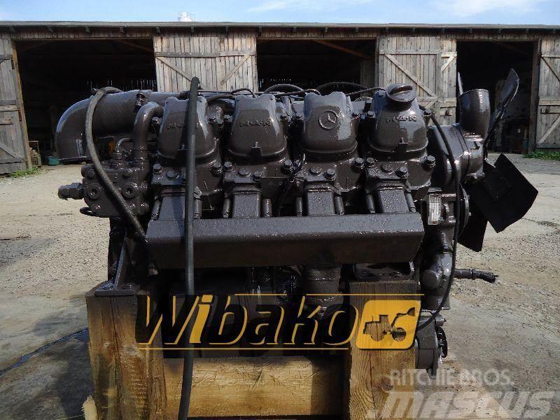 Mercedes-Benz Engine / Silnik spalinowy Mercedes benz OM402