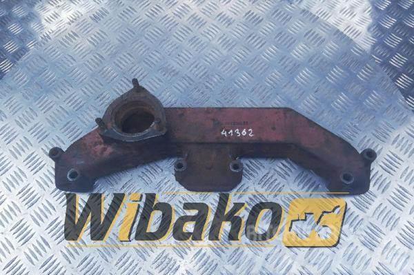 Perkins Exhaust manifold Perkins 1006-6 3778M011