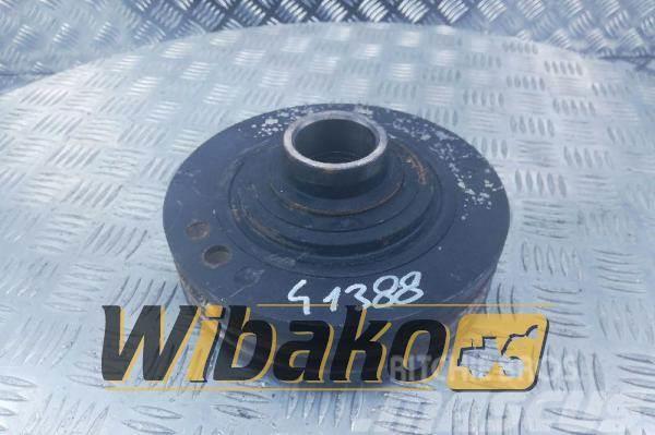 Perkins Vibration damper + pulley Perkins 1006-6 3115T043
