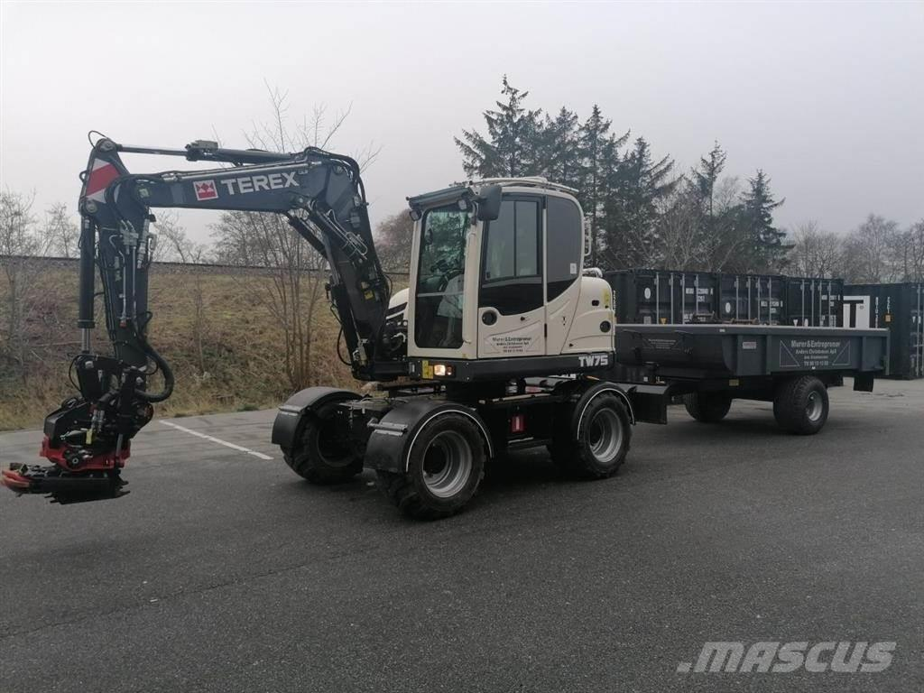 Terex TW 75 med meget udstyr