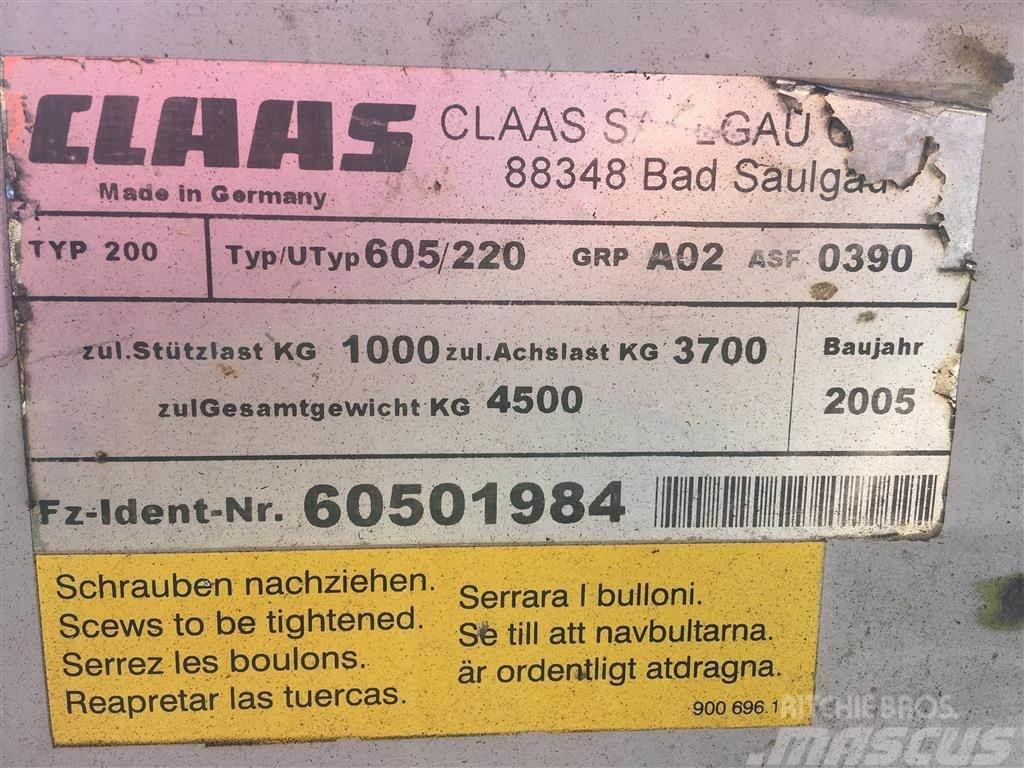 Claas Liner 3000, 2005, Rakes and tedders