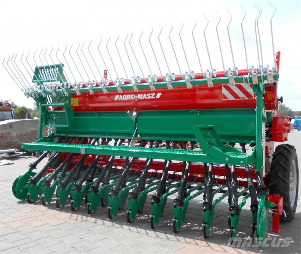 Agro-Masz Drillmaschine/ Seed drill/ Siewnik rzędowy SR-300