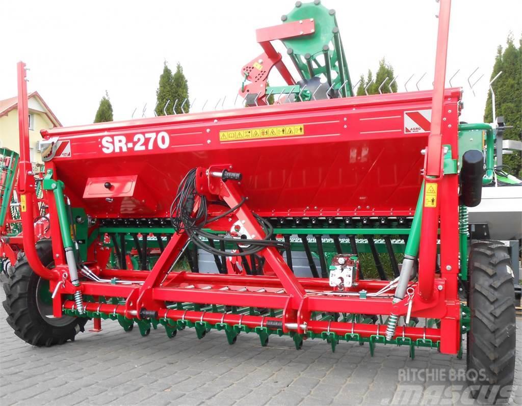Agro-Masz Drillmaschine/ Seed drill/ Siewnik rzędowy SR-270