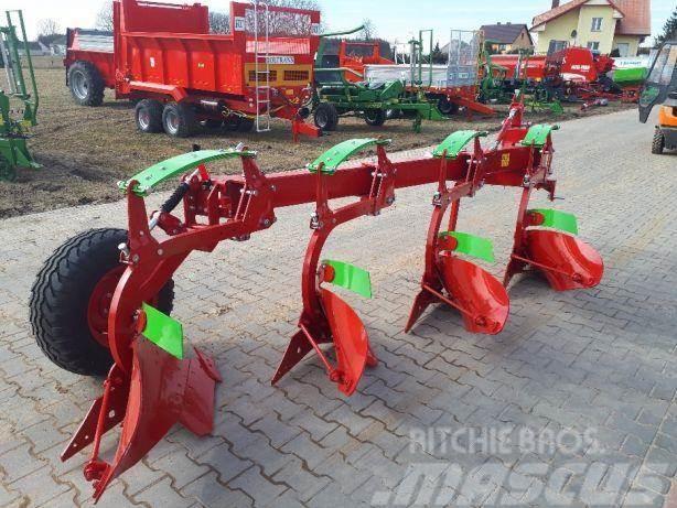 Koja Anbaubettpflug/ Four-furrow plow/ Pług zagonowy 4-